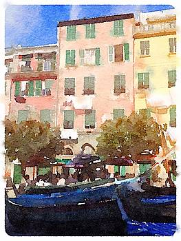 Homes in Cinque Terre by Kenna Westerman