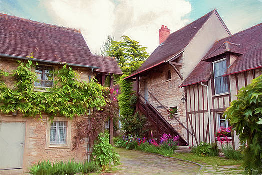 Homes in Giverny, France by John Rivera