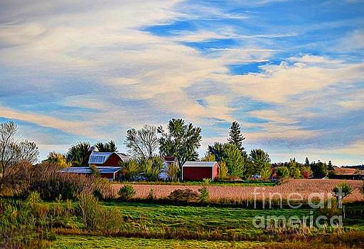 Homestead in the High Country by Becky Kurth