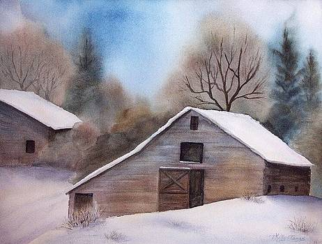 Homestead in Winter by Teresa Kelly-Tagas
