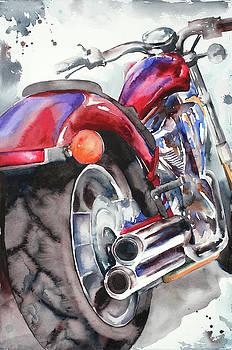 Honda Fury by Jamie Hansen