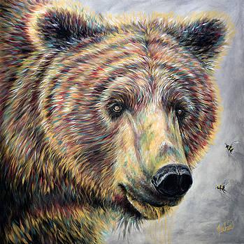 Honey Bear by Teshia Art