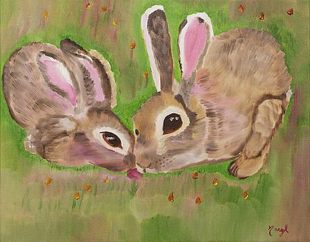 Honey Bunnies by Meryl Goudey