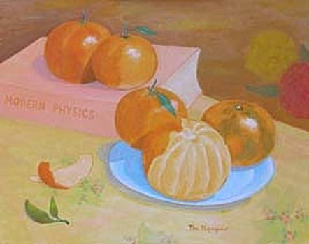 Honey Tangerines From Back Yard by Thi Nguyen