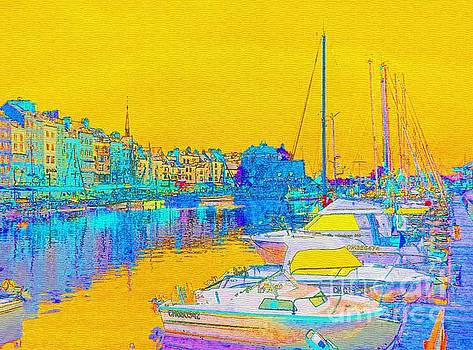 Honfleur Normandy France by Ann Johndro-Collins