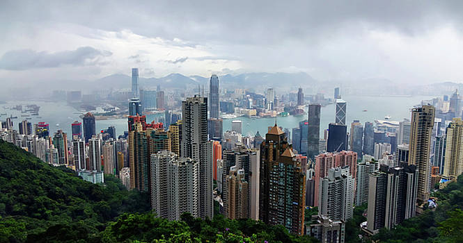 Hong Kong After Rain by Rick Lawler