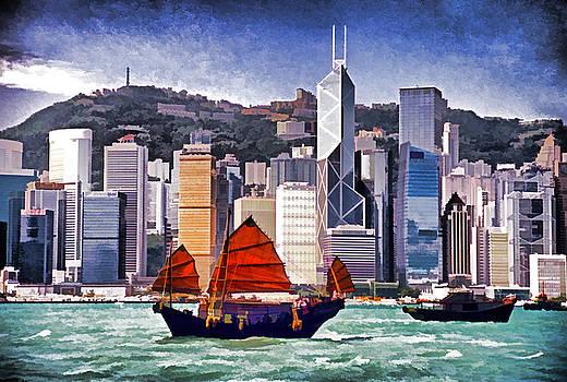 Dennis Cox - Hong Kong Skyline