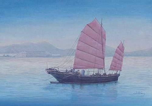 Hong Kong Morning by Jim Clary