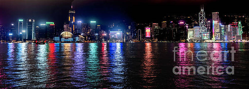 Hong Kong Panorama by Jim Chamberlain