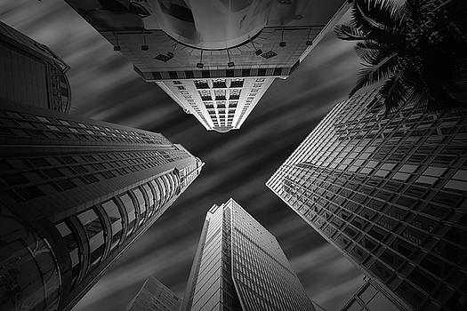Hong Kong sky scrapers by William Freebilly photography