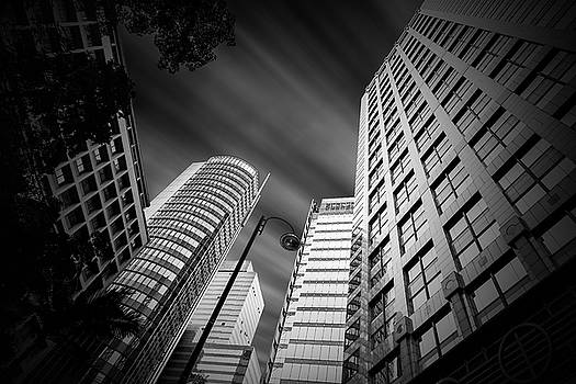 Hong Kong tall buildings by William Freebilly photography