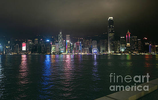 Hong Kong View by Jim Chamberlain