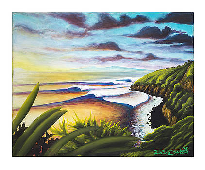 Honolua Bay by Ronnie Jackson