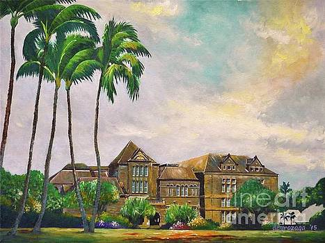 Honolulu Bishop Museum by Larry Geyrozaga