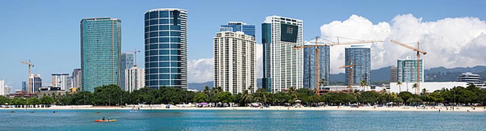 Ramunas Bruzas - Honolulu Panorama