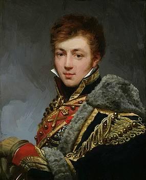Honor Charles Baston De Lariboisi Re 1815 by Gros AntoineJean