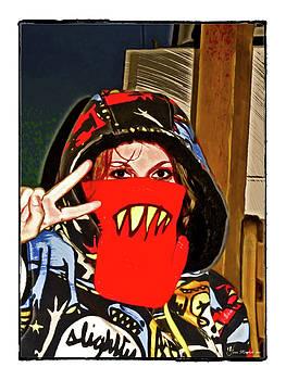Joan  Minchak - Hooded Girl