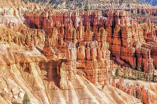 Hoodoos at Bryce Canyon by John M Bailey