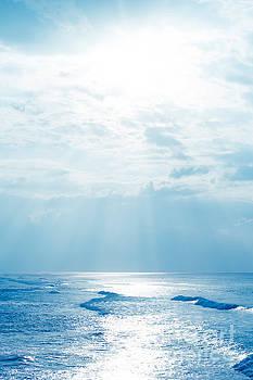 Hookipa Beach Blue Sensation by Sharon Mau