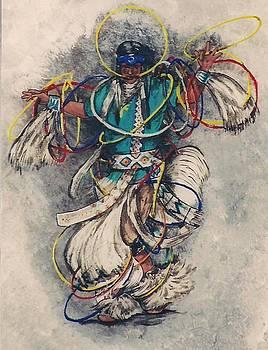 Hoop Dancer by Mickey Patrick