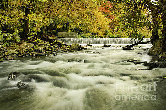 Hoopes Falls in the Autumn Landscape Photo by Melissa Fague