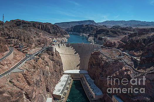 Hoover Dam by Michael Ver Sprill