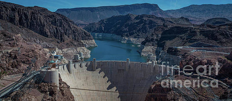 Hoover Dam Panorama by Michael Ver Sprill