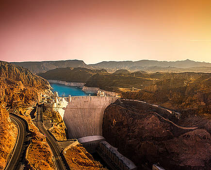 Hoover Dam Prints by Sunman Studios