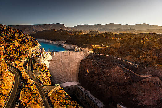 Hoover Damn by Sunman