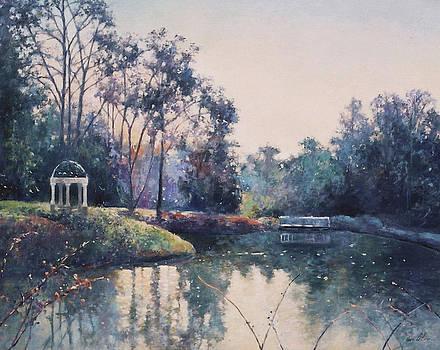 Hopelands Pond by Anne Lattimore