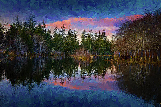 Mike Penney - Hoquiam River Sunset 1