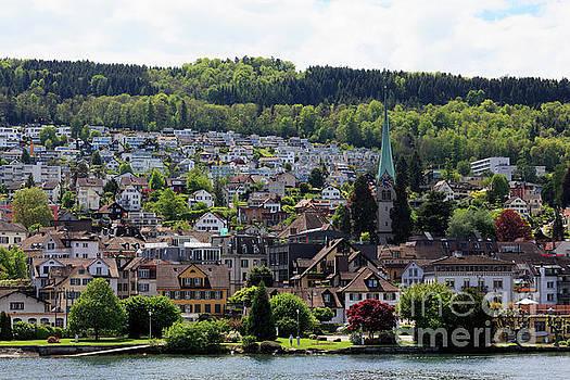 Horgen on Zurichsee in Switzerland by Louise Heusinkveld