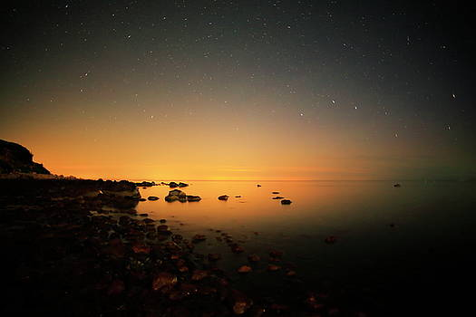 Horizons Glow by Roupen  Baker