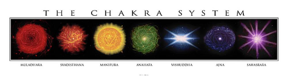 Horizontal Chakras by Patrick Reilly