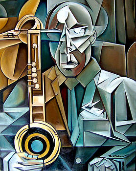 Horn and Man by Martel Chapman