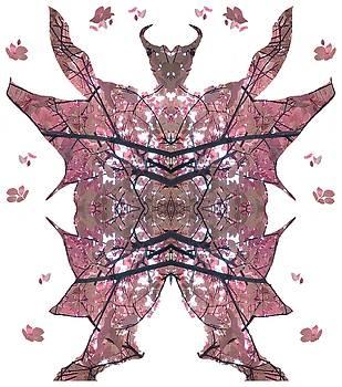Horned, Winged, Hoofed, Man 2 by Julia Woodman