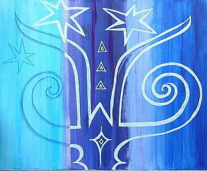 Horns And Spirals by Nina Bravo