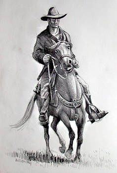 Horse and Rider by William Hay