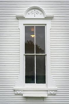 Horse Farm Window by Guy Whiteley
