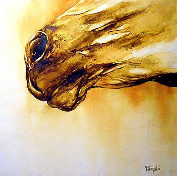 Horse fragment I by Fabien Petillion