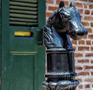 Kathleen K Parker - Horse Head Post - NOLA