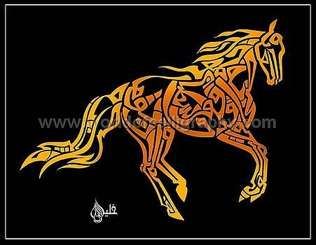 Horse by Khaleelullah Chemnad