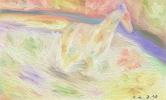 Horse by Lazar Caran