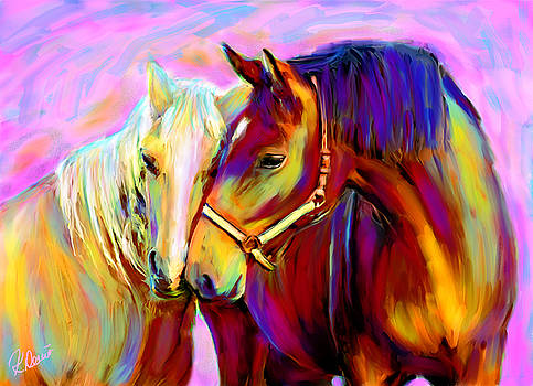 Horse Love by Karen Derrico