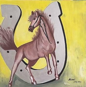 Horse by Mimi Eskenazi