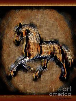 Horse Mosaic by Barbara Milton