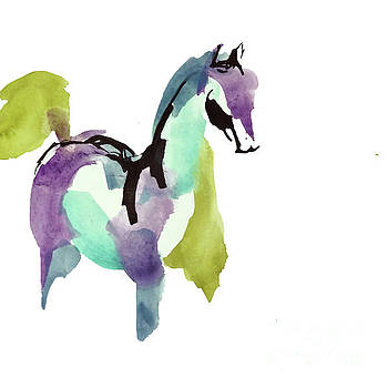 Horse of a Different Color 3 by Chris Paschke
