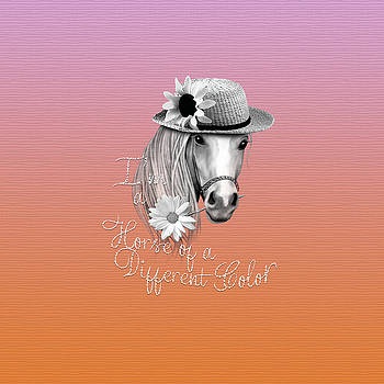 Horse Of A Different Color by Cindy Anderson