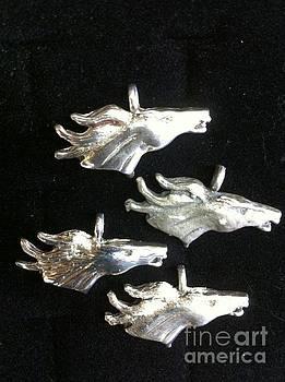 Horse pendant by Joseph Mora