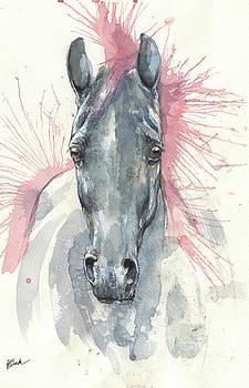 Horse portrait 2017 07 26 by Angel Tarantella